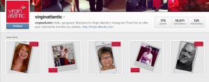 Instagram feed- #30yearjourney