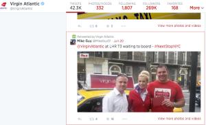 Twitter post #NextStopNYC