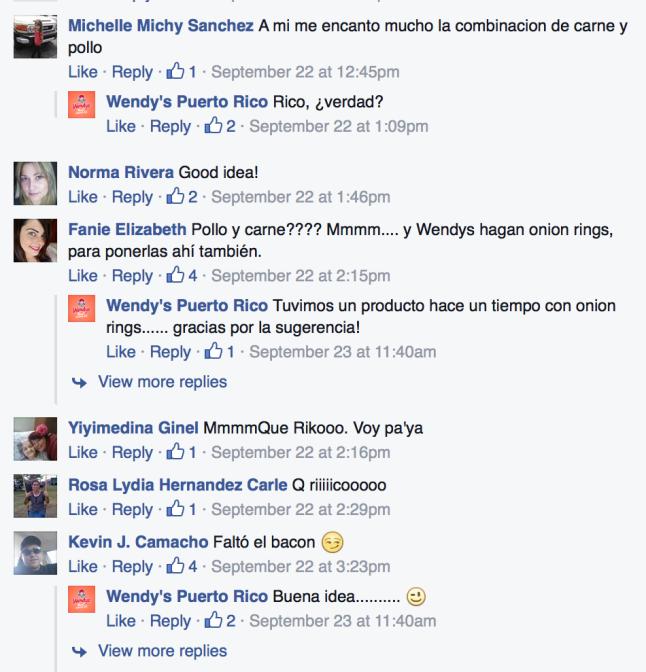 Wendy's Puerto Rico Buzzworthy Social